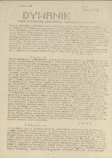"""Dywanik : serwis informacyjny """"Solidarności Walczącej"""", 1983, nr 8"""