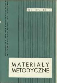 Materiały metodyczne, R. [20], 1975, nr 3