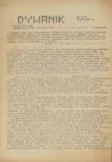 """Dywanik : pismo niezależne członków NSZZ """"Solidarność"""" w Kowarach, 1984, nr 2 (15)"""