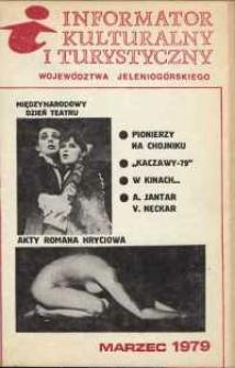 Informator Kulturalny i Turystyczny Województwa Jeleniogórskiego, 1979, nr 3