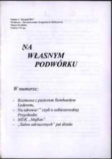 Na Własnym Podwórku, 2001, nr 4
