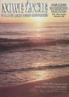 Nowe Życie: dolnośląskie pismo katolickie: religia, kultura, społeczeństwo, 1996, nr 4 (259)
