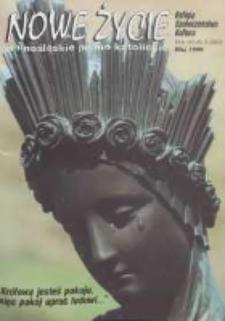 Nowe Życie: dolnośląskie pismo katolickie: religia, kultura, społeczeństwo, 1996, nr 5 (260)