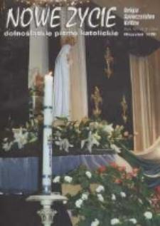 Nowe Życie: dolnośląskie pismo katolickie: religia, kultura, społeczeństwo, 1996, nr 9 (264)