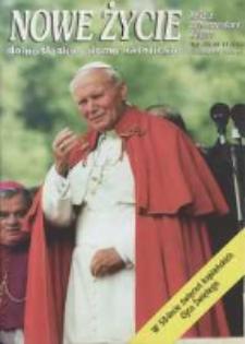 Nowe Życie: dolnośląskie pismo katolickie: religia, kultura, społeczeństwo, 1996, nr 11 (266)