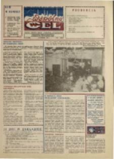 """Wspólny cel : gazeta załogi ZWCH """"Chemitex-Celwiskoza"""", 1989, nr 11 (1092)"""