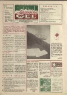 """Wspólny cel : gazeta załogi ZWCH """"Chemitex-Celwiskoza"""", 1989, nr 14 (1095)"""