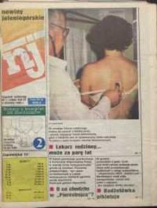 Nowiny Jeleniogórskie : tygodnik społeczny, R. 37, 1995, nr 1 (1808)