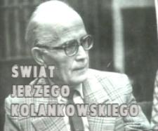 Sylwetki - Jerzy Kolankowski [Film]