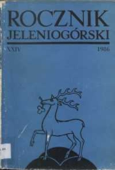 Rocznik Jeleniogórski, T. 24 (1986)