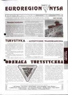 Euroregion Nysa : biuletyn informacyjny Stowarzyszenia Gmin Polskich Euroregionu Nysa, 2001, nr 46-47