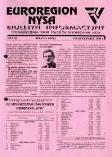 Euroregion Nysa : biuletyn informacyjny Stowarzyszenia Gmin Polskich Euroregionu Nysa, 1994, nr 9-10
