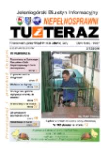 Niepełnosprawni Tu i Teraz : jeleniogórski biuletyn informacyjny niepełnosprawnych, 2006!, nr 2 (12)