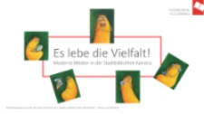Es lebe die Vielfalt : Moderne Medien in der Stadtbibliothek Kamenz - prezentacja [Dokument elektroniczny]