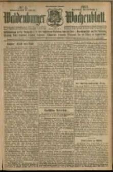 Waldenburger Wochenblatt, Jg. 58, 1912, nr 4