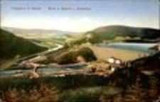 Pilchowice - zapora wodna i widok na dolinę Bobru [Dokument ikonograficzny]