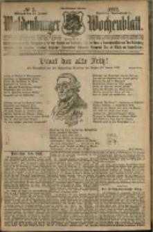 Waldenburger Wochenblatt, Jg. 58, 1912, nr 7