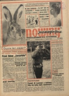Nowiny Jeleniogórskie : magazyn ilustrowany ziemi jeleniogórskiej, R. 8, 1965, nr 31 (384)
