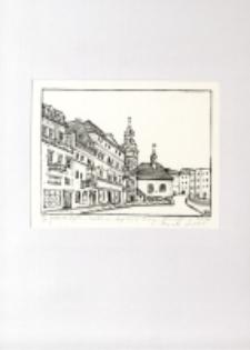 Jelenia Góra - widok na Kaplicę św. Anny [Dokument ikonograficzny]