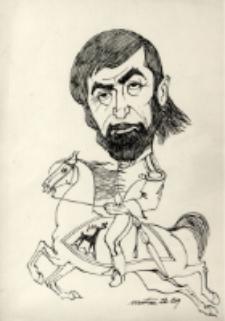 Karykatura Tadeusza Kaczmarka [Dokument ikonograficzny]