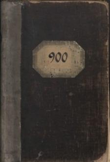 900 [Księga wzorów Huty Josephine]