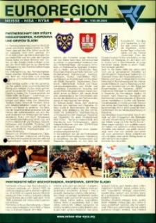 Euroregion Nysa : biuletyn informacyjny Stowarzyszenia Gmin Polskich Euroregionu Nysa, 2005, nr 7