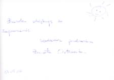 Spotkanie autorskie z Beatą Ostrowicką, 17.05.2006 r. [Dokument ikonograficzny]