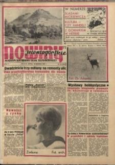 Nowiny Jeleniogórskie : magazyn ilustrowany ziemi jeleniogórskiej, R. 10, 1967, nr 33 (490)