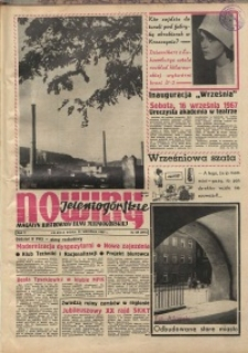 Nowiny Jeleniogórskie : magazyn ilustrowany ziemi jeleniogórskiej, R. 10, 1967, nr 38 (495)