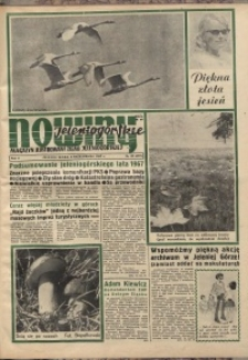 Nowiny Jeleniogórskie : magazyn ilustrowany ziemi jeleniogórskiej, R. 10, 1967, nr 40 (497)