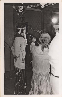 """Występ Gdańskiej Kapeli """"Dominika"""" w Obornickim Ośrodku Kultury : fotografie wykonawców, 11.01.1978 r. [Dokument ikonograficzny]"""