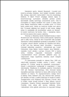 """Wojskowy Klub Sportowy """"Polonia"""" w Jeleniej Górze sekcja piłki nożnej [Dokument elektroniczny]"""
