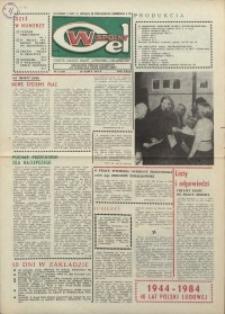 """Wspólny cel : gazeta załogi ZWCH """"Chemitex-Celwiskoza"""", 1984, nr 8 (909)"""