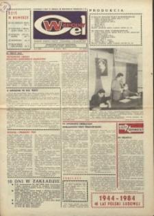 """Wspólny cel : gazeta załogi ZWCH """"Chemitex-Celwiskoza"""", 1984, nr 9 (910)"""