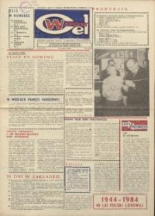 """Wspólny cel : gazeta załogi ZWCH """"Chemitex-Celwiskoza"""", 1984, nr 10 (911)"""