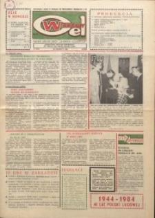 """Wspólny cel : gazeta załogi ZWCH """"Chemitex-Celwiskoza"""", 1984, nr 18 (919)"""