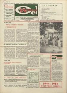 """Wspólny cel : gazeta załogi ZWCH """"Chemitex-Celwiskoza"""", 1984, nr 22 (923)"""