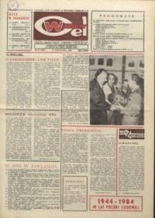 """Wspólny cel : gazeta załogi ZWCH """"Chemitex-Celwiskoza"""", 1984, nr 31 (932)"""
