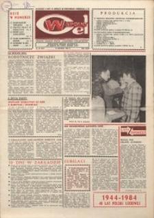 """Wspólny cel : gazeta załogi ZWCH """"Chemitex-Celwiskoza"""", 1984, nr 34 (935)"""