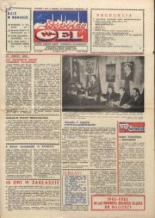 """Wspólny cel : gazeta załogi ZWCH """"Chemitex-Celwiskoza"""", 1985, nr 14 (951)"""