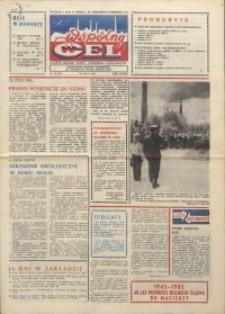 """Wspólny cel : gazeta załogi ZWCH """"Chemitex-Celwiskoza"""", 1985, nr 20! (957!)"""