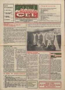 """Wspólny cel : gazeta załogi ZWCH """"Chemitex-Celwiskoza"""", 1985, nr 27 (964)"""