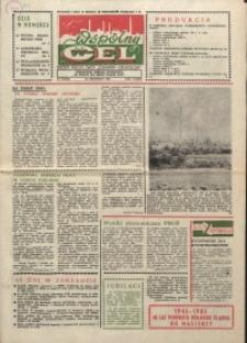 """Wspólny cel : gazeta załogi ZWCH """"Chemitex-Celwiskoza"""", 1985, nr 31 (968)"""