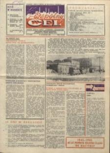 """Wspólny cel : gazeta załogi ZWCH """"Chemitex-Celwiskoza"""", 1985, nr 33 (970)"""