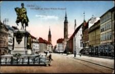 Görlitz. Obermarkt mit Kaiser-Wilhelm-Denkmal [Dokument ikonograficzny]