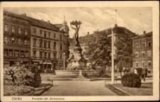 Görlitz. Postplatz mit Zierbrunnen [Dokument ikonograficzny]