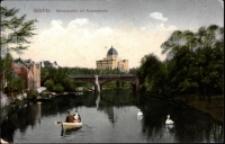 Görlitz. Neisseparthie mit Ruhmeshalle [Dokument ikonograficzny]