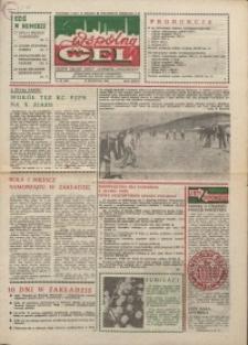 """Wspólny cel : gazeta załogi ZWCH """"Chemitex-Celwiskoza"""", 1986, nr 10 (983)"""