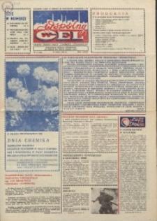 """Wspólny cel : gazeta załogi ZWCH """"Chemitex-Celwiskoza"""", 1986, nr 15 (988)"""