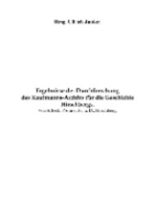Ergebnisse der Durchforschung des Kaufmanns-Archivs für die Geschichte Hirschbergs [Dokument elektroniczny]